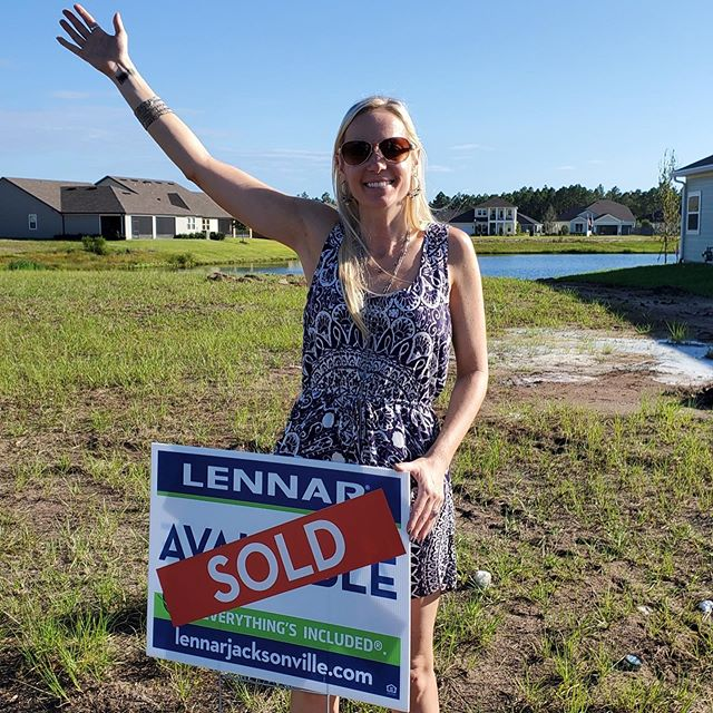 Keith Hallman and I did a thing. It's gonna be a....house!🏡 Arriving April 2020.  #ourrealtorrocks #staugustinelocals #lennaratcreeksideattwincreeks #creeksidetwincreeks #buyingahomeinflorida #settingdownroots #itsahome #lennarhomesflorida #stjohnscountylife #newconstructionhomesflorida #floridaishomenow