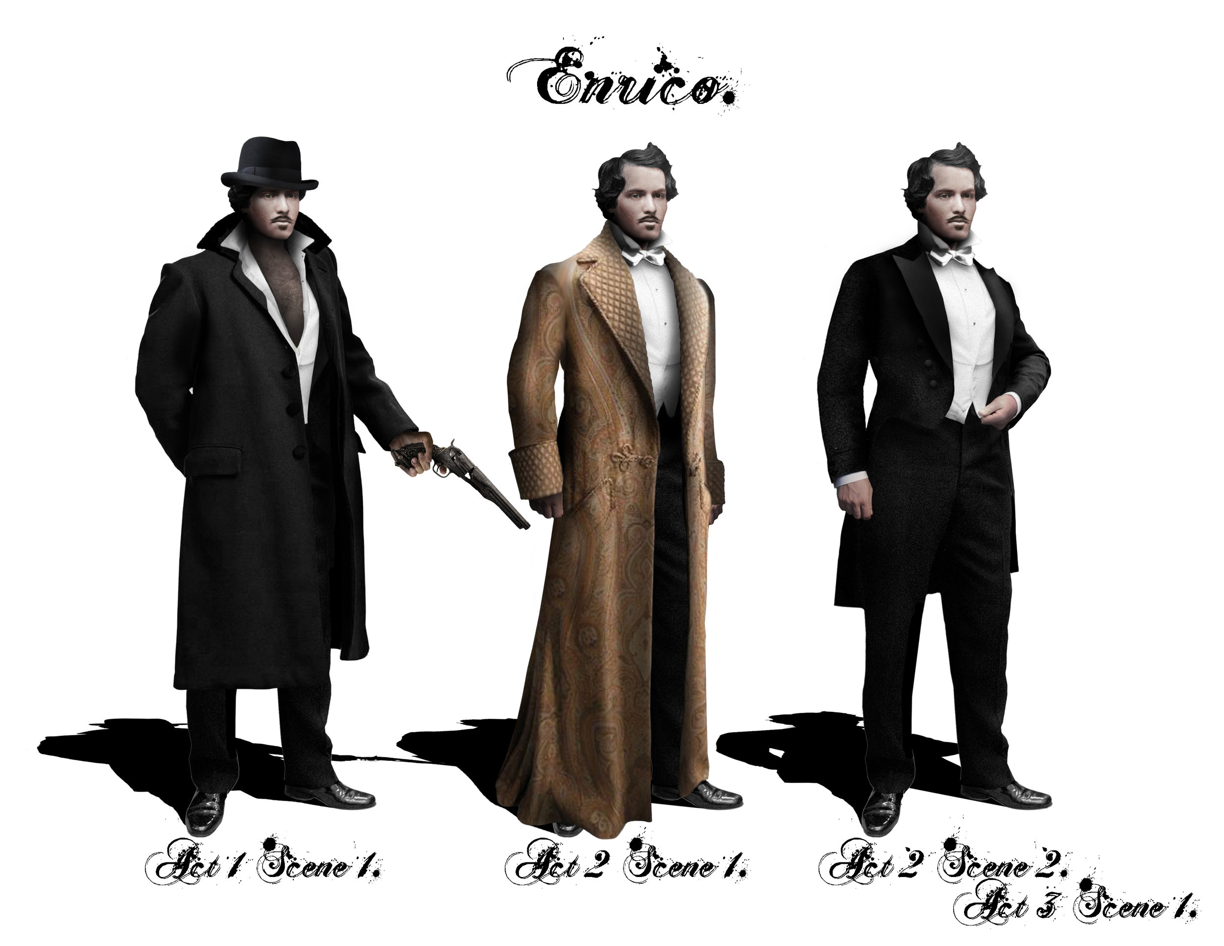 ENRICO - Costume Designs