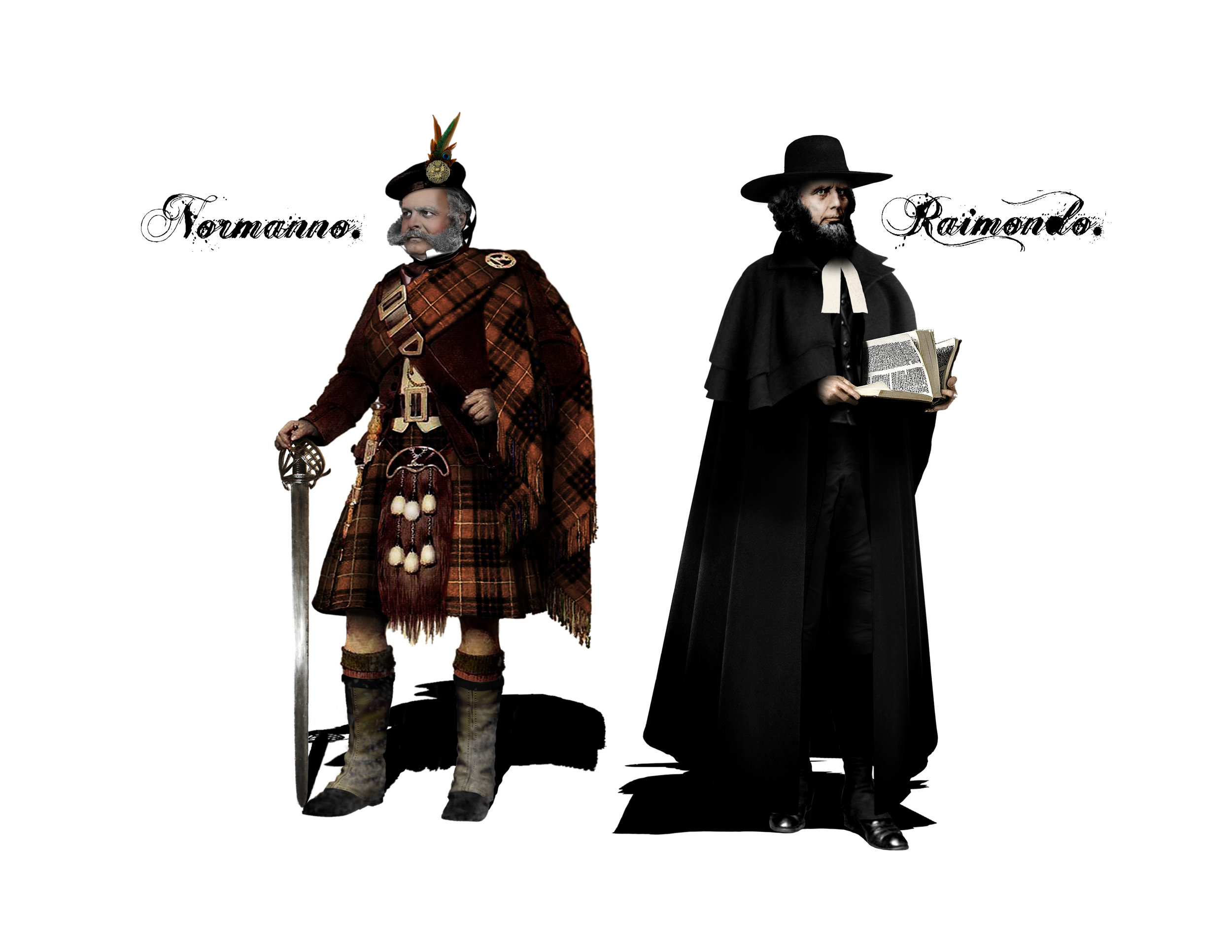NORMANNO & RAIMONDO - Costume Designs