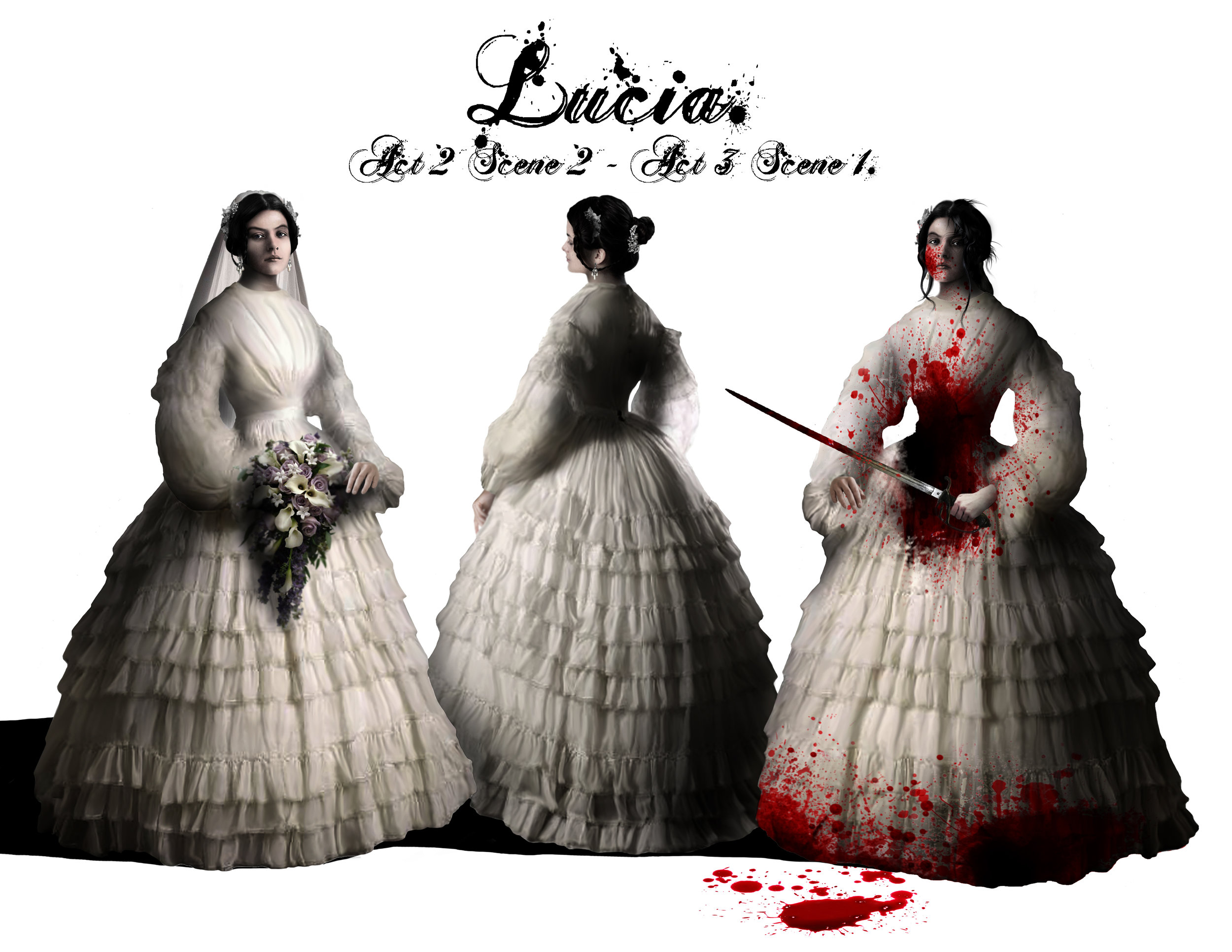 LUCIA - Costume Design - The Wedding Dress