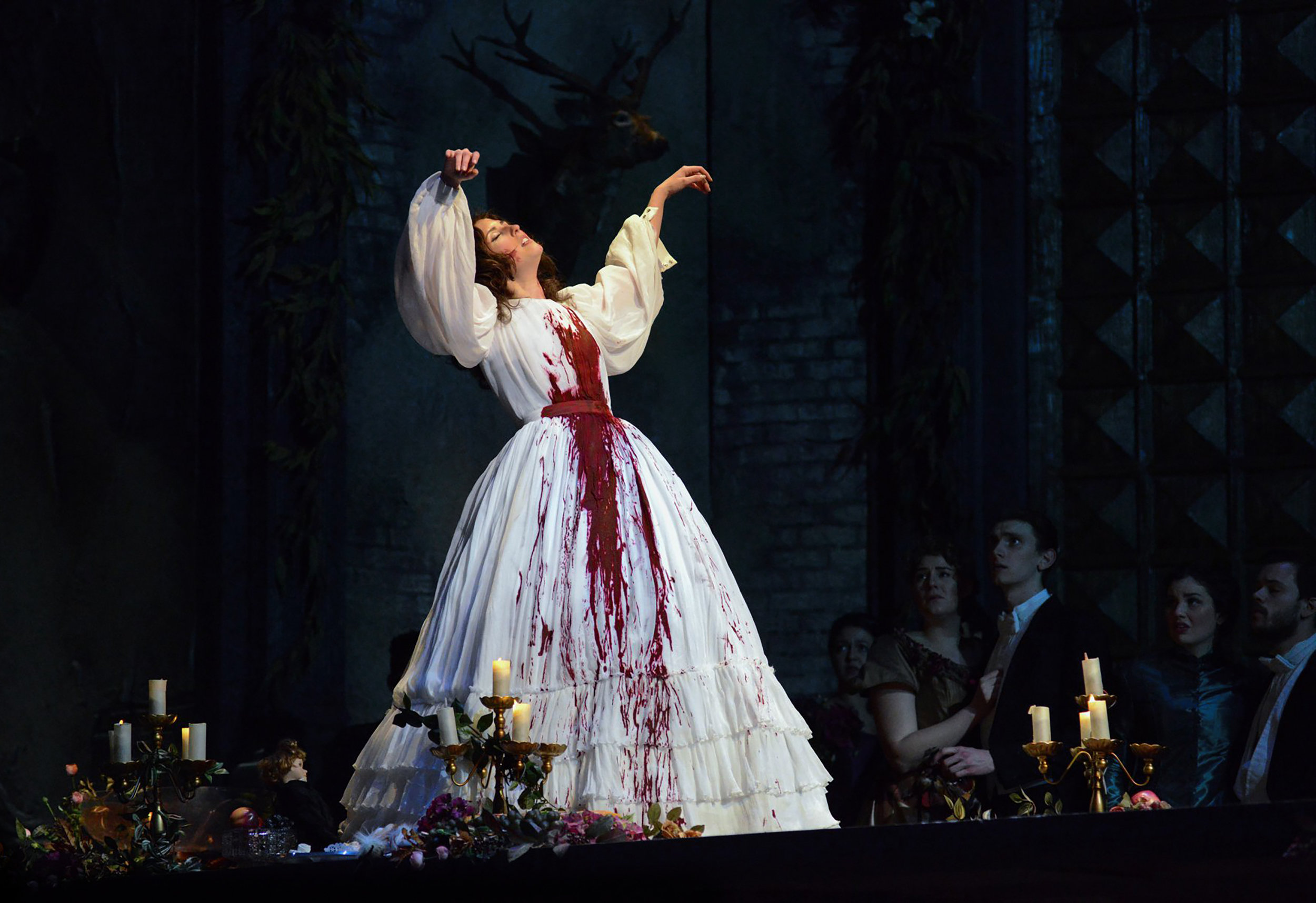 LUCIA DI LAMMERMOOR - IU Opera Theatre, Indiana USA