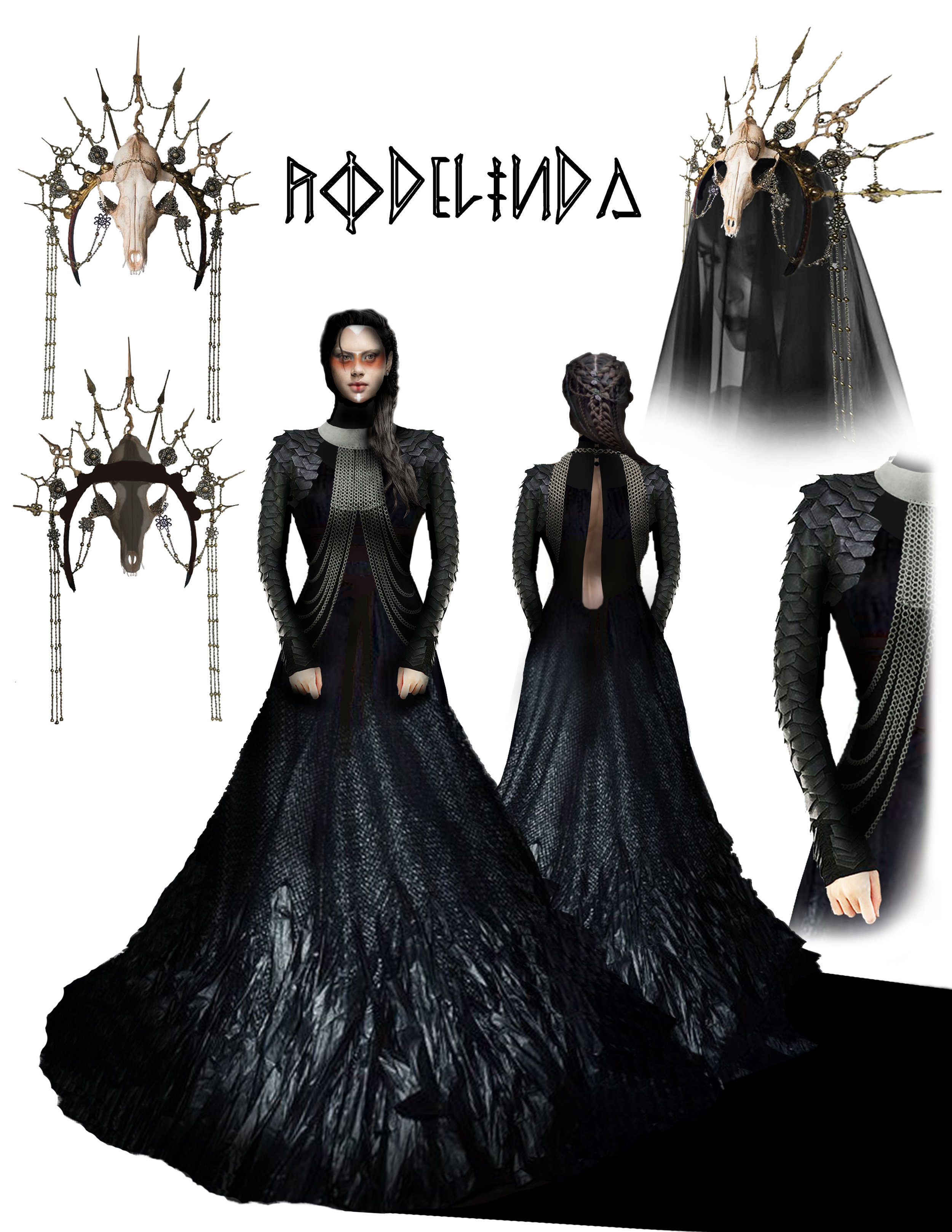 RODELINDA - Costume Design