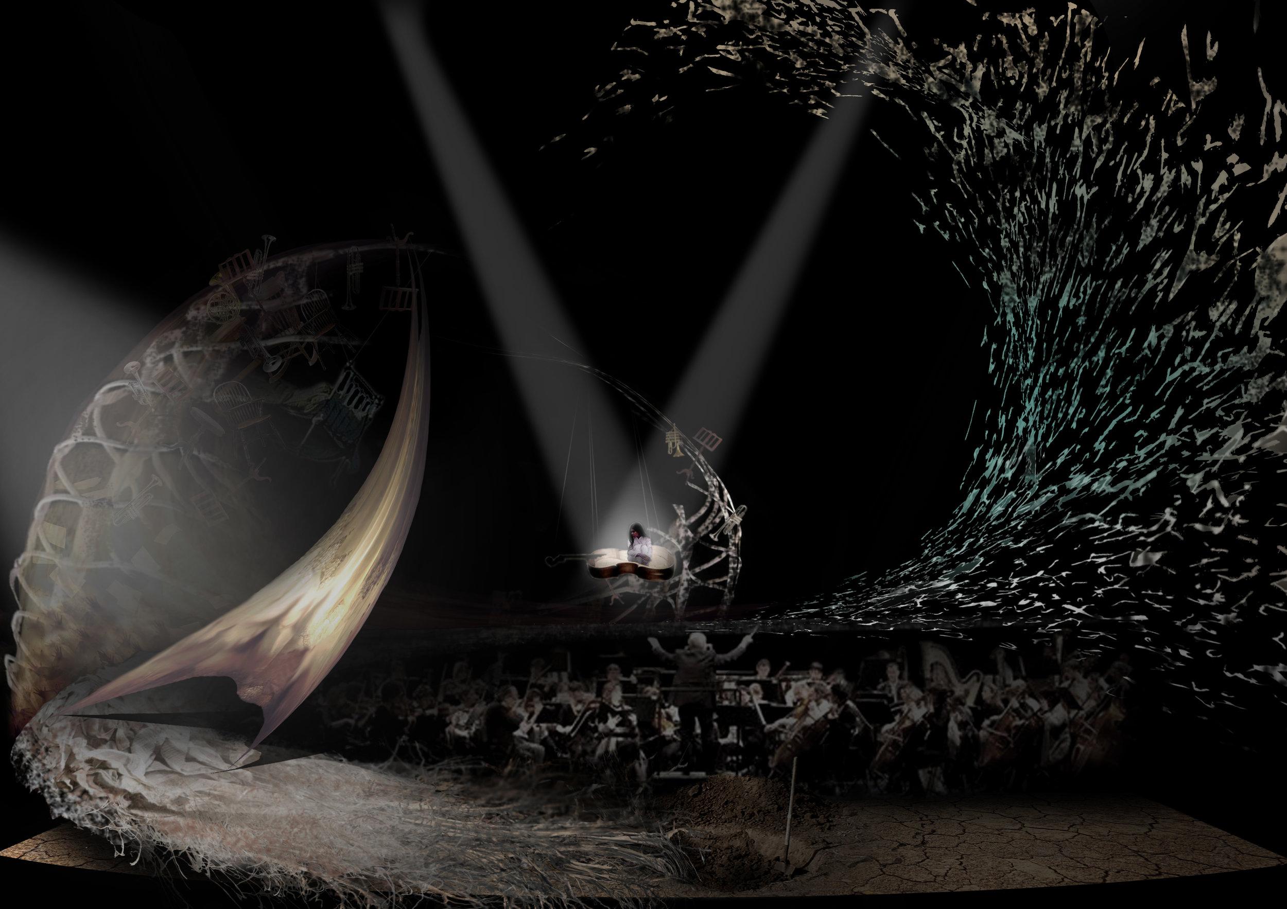 CONCEPT ARTWORK 3 - The Boat - Photoshop Render