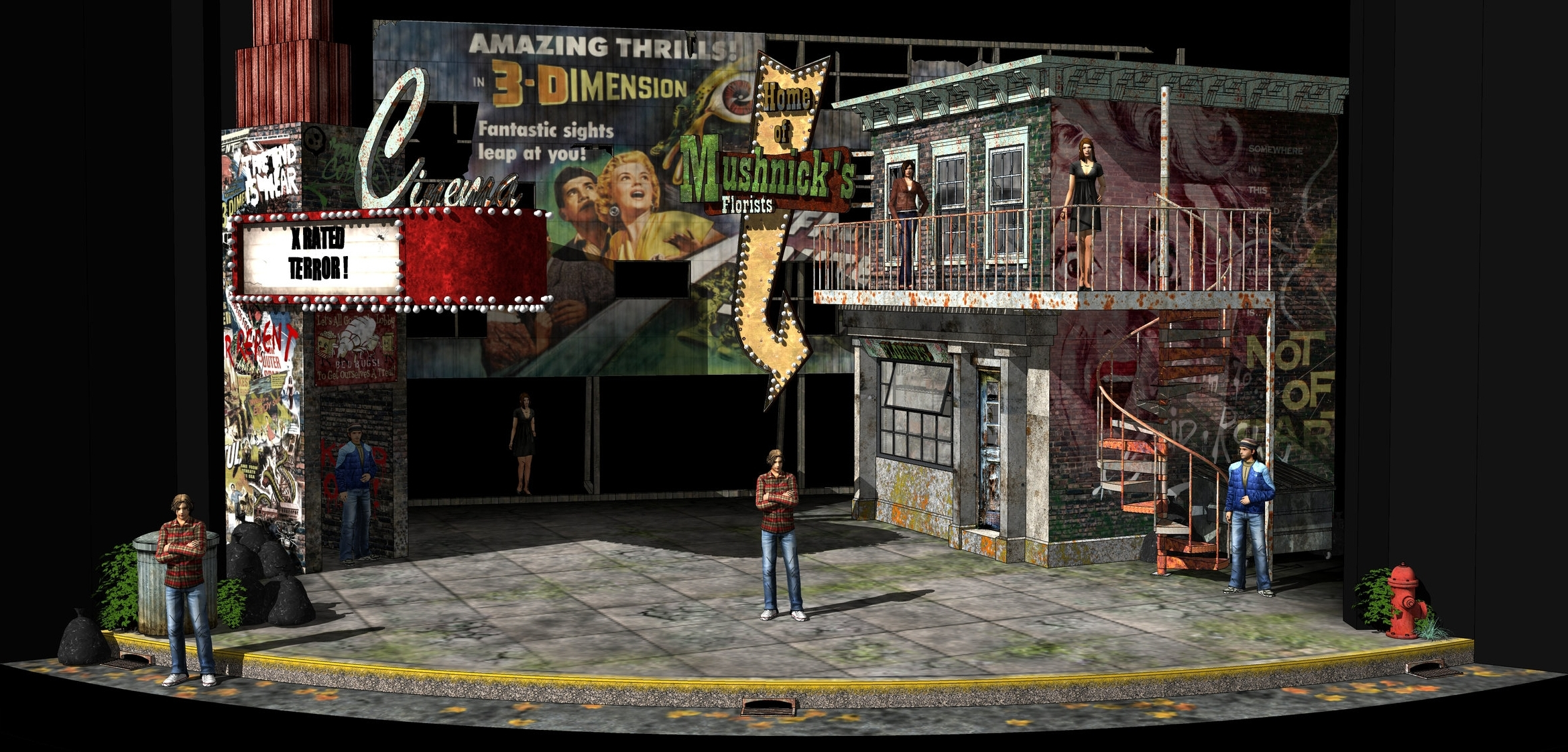 LITTTLE SHOP OF HORRORS - Cleveland Playhouse, Ohio USA