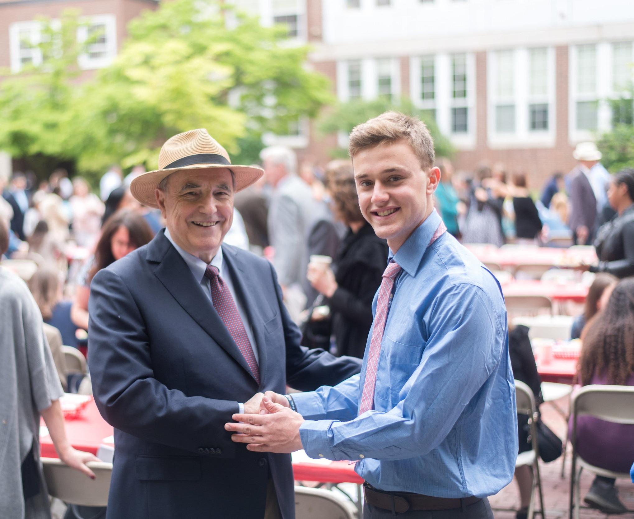 John F. Hodgman - Founding Chair of the BCF Scholarship Fund for Brookline High