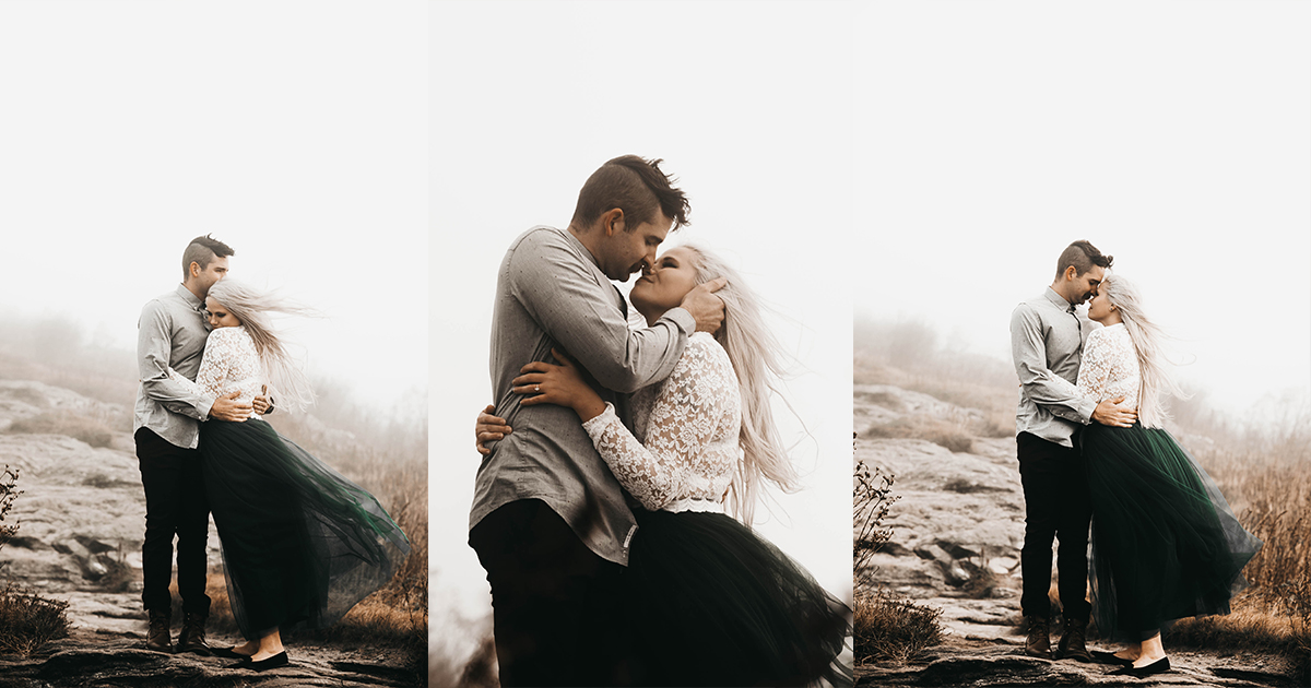 Makenzie Lauren Photography | Tasha & Adam Engagement Session | Black Balsam Knob004.jpg
