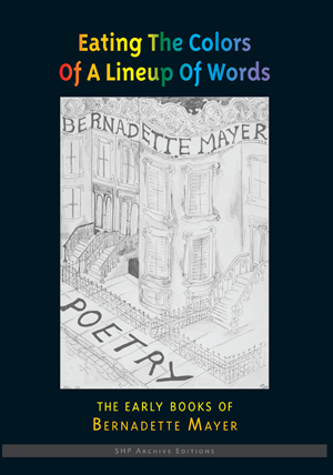 Eating the Colors of a Lineup of Words: The Early Books of Bernadette Mayer.  Station Hill Press, 2015.