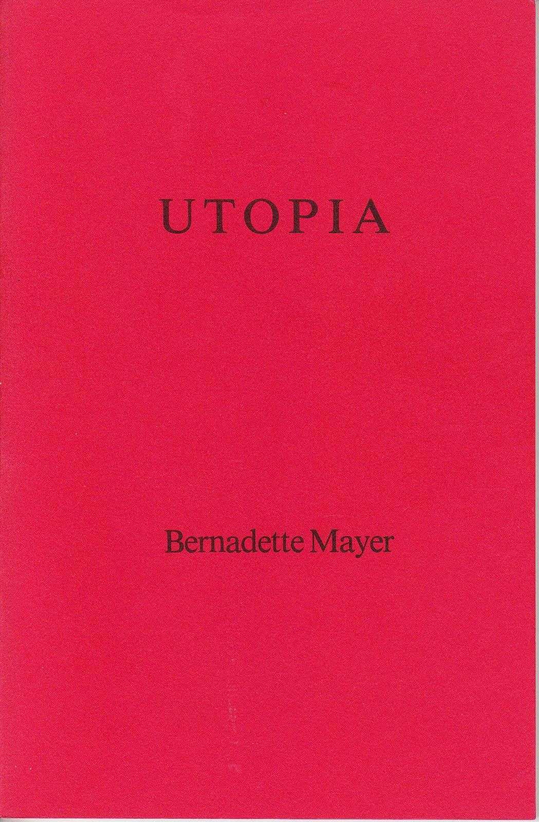 Utopia . United Artists Books, 1984.