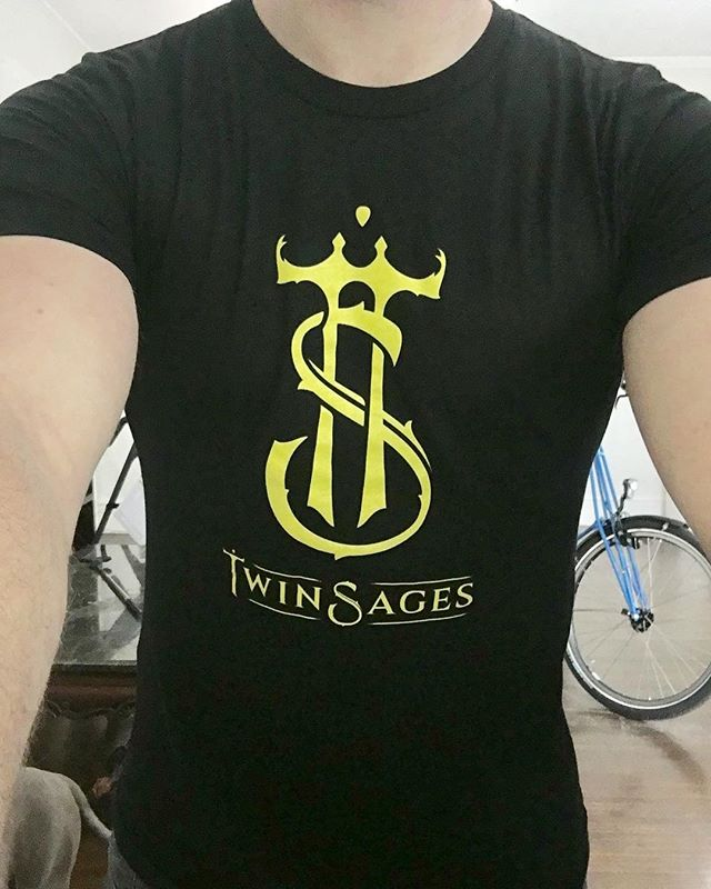 We're doing a giveaway ending on Jan 1st. We'll be giving out 5 of these Twin Sages shirts(to people in the USA) All you have to do to enter the competition is follow our page, like this post, leave a comment and tag a friend. The 5 winners will be selected at random and contacted on Jan 2nd. #twinsagesshirt #giveaway #giveawaycontest #blackandyellow