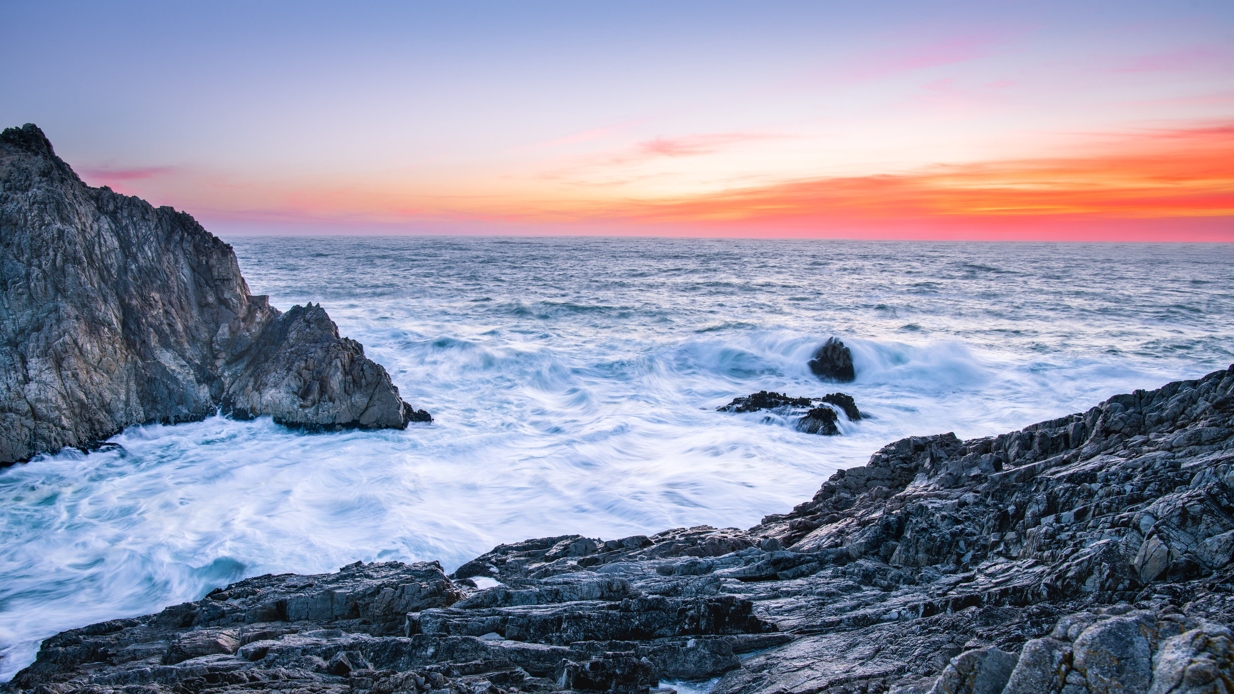 Sunset at Point Reyes National Seashore