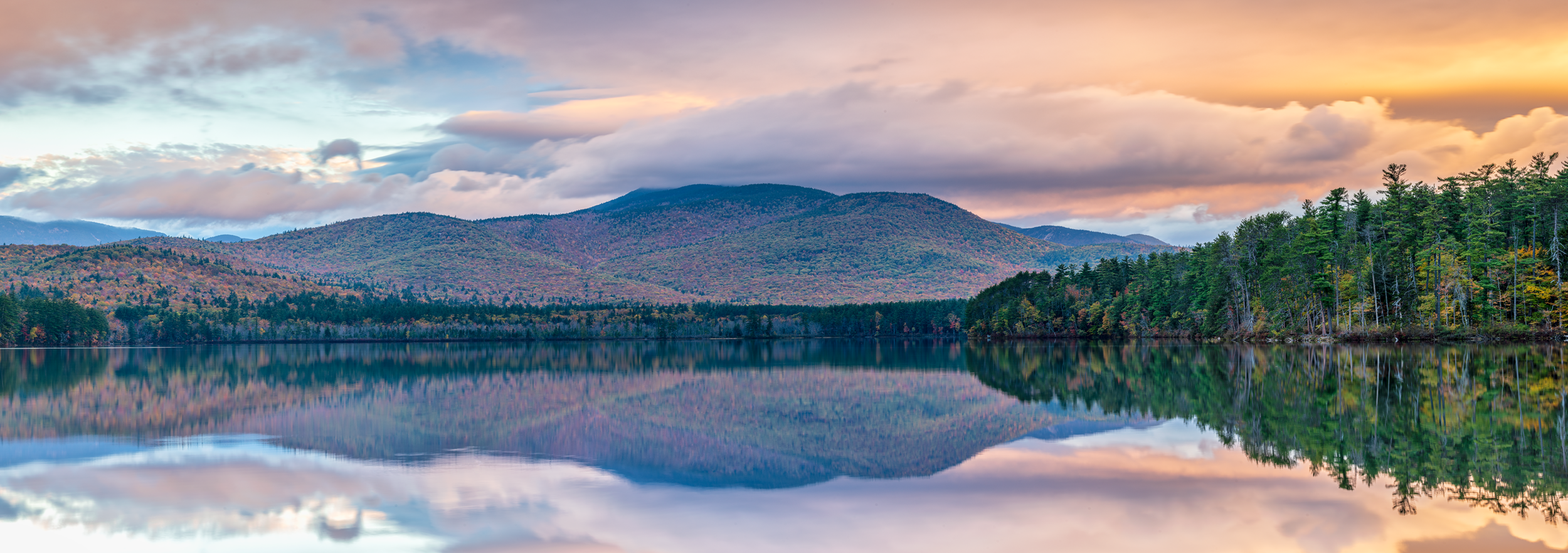 Sunrise Reflection at Chocorua Lake