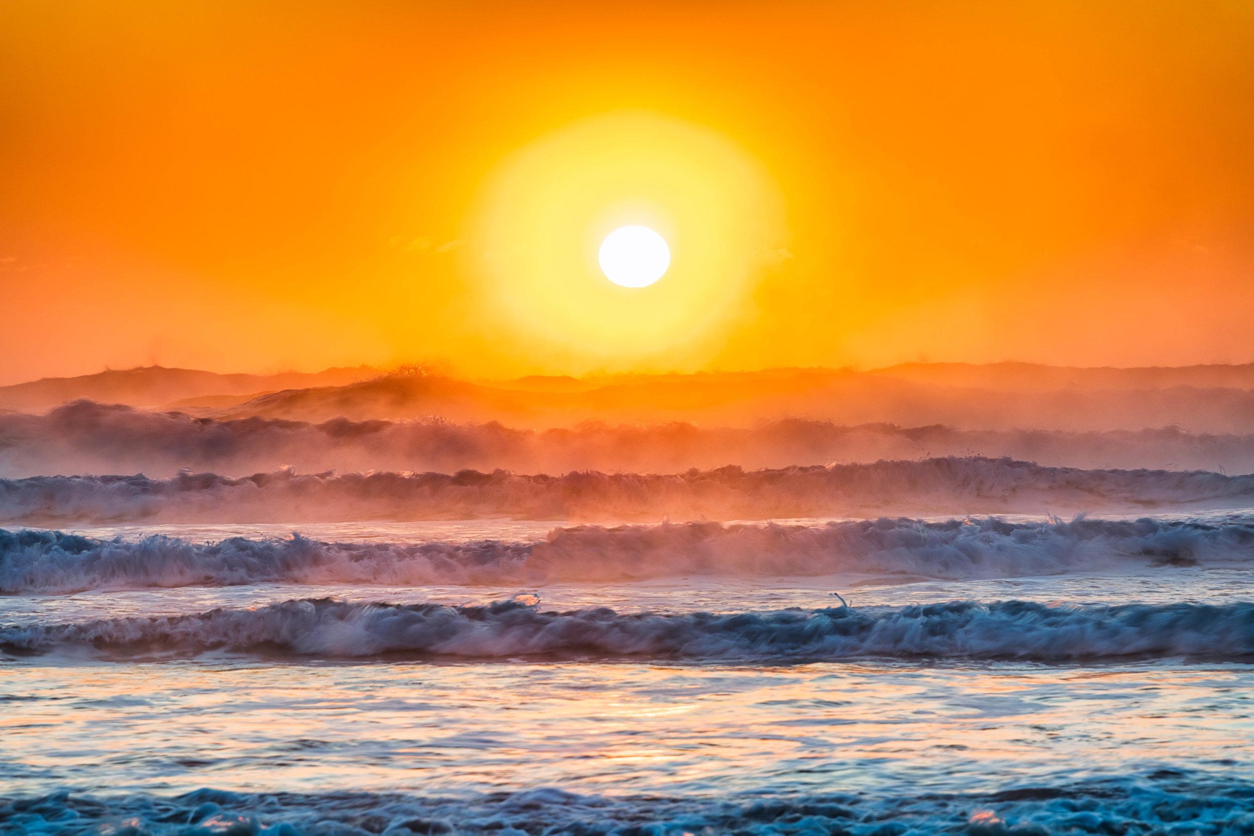 Sunrise at Ogunquit Beach ME