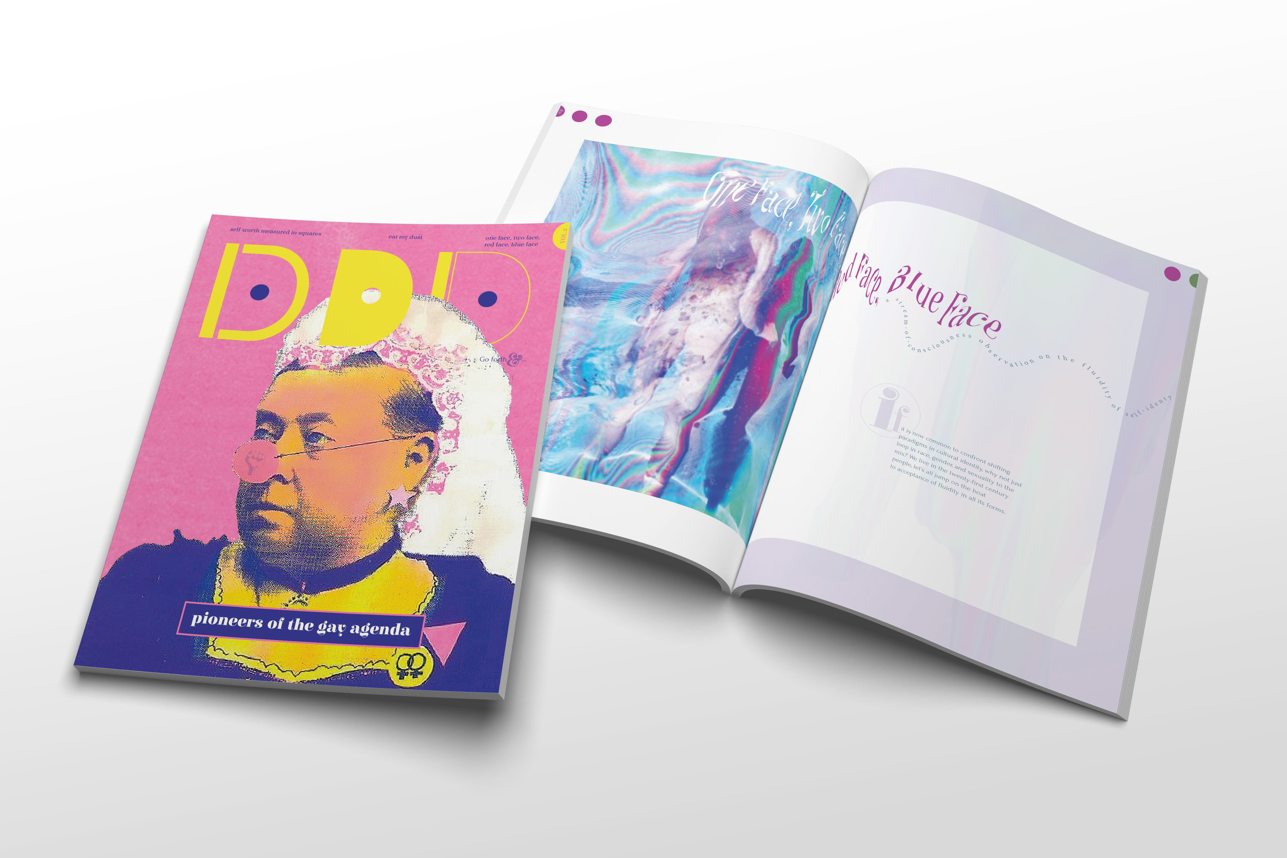 Note: this publication was created in concept and execution by Chelsea, it does not exist in the world (yet…)
