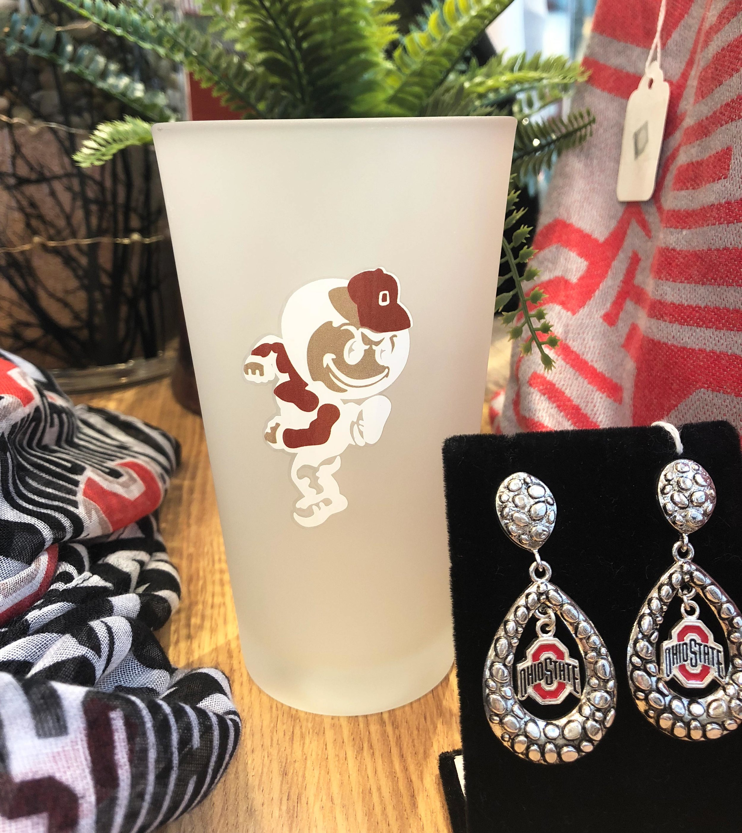 OSU Buckeye Fan Fare - jewelry, handbags, accessories, mugs, pint glasses, throws, blankets