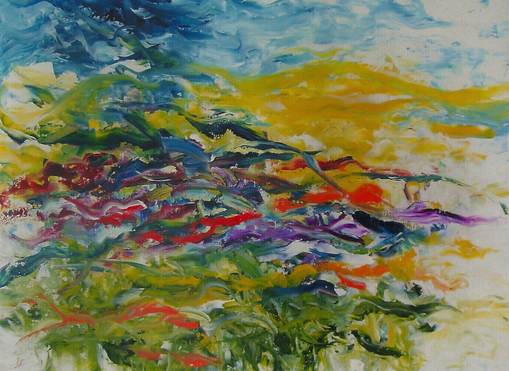 Spring in River Valley Oil on Canvas 30x40 Sold