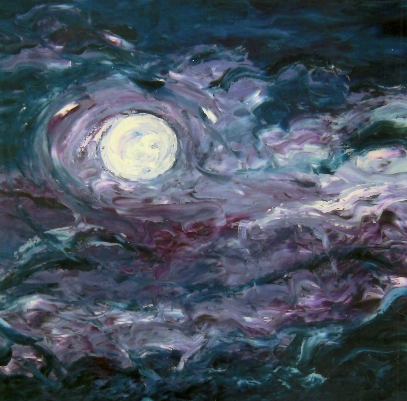 When I Wish Upon The Moon  OIl on Canvas 24x36 (sold)