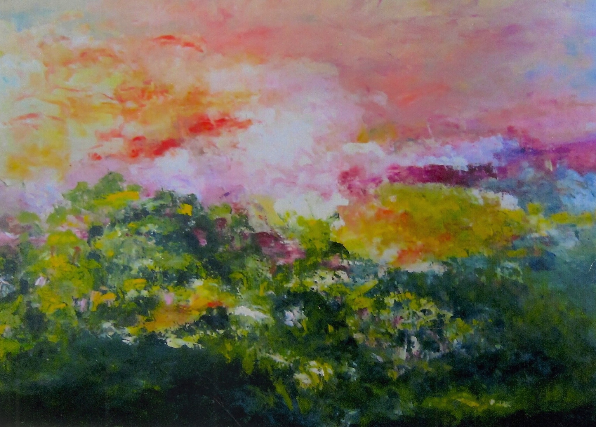 A Summer Day in Rivertown (sold)