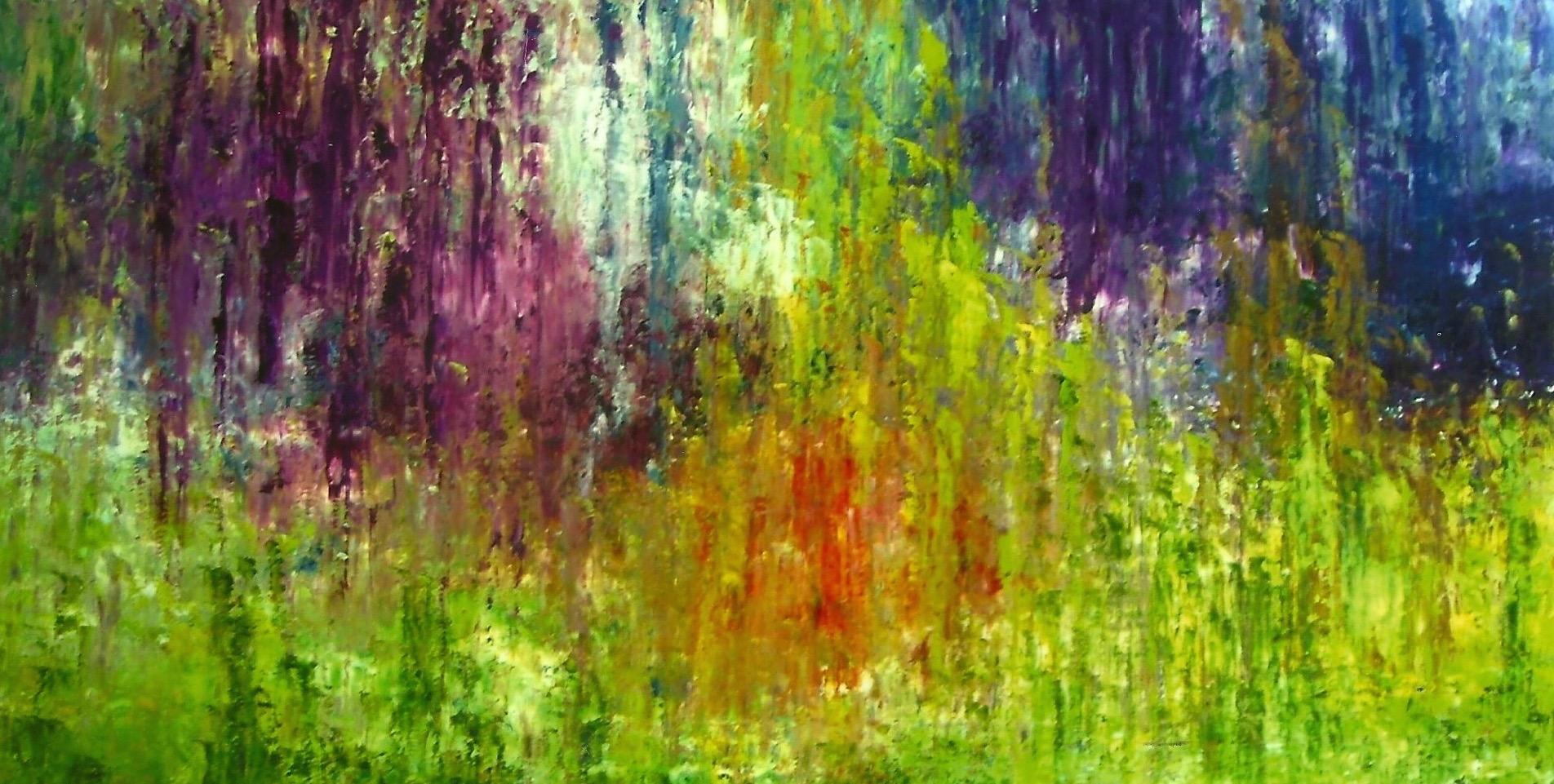 A Summer Rain 24x36 Oil on Canvas (sold)