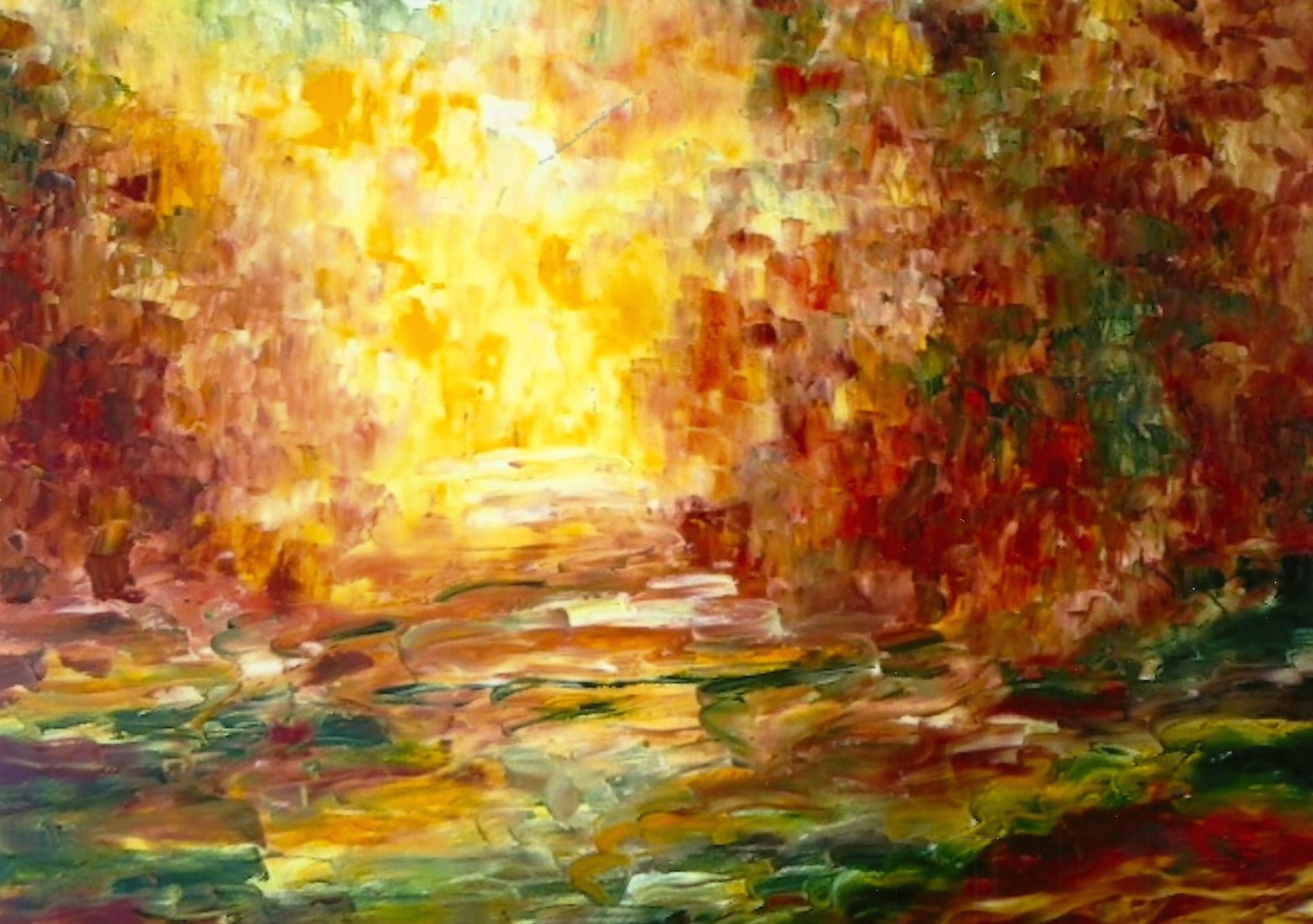 Gratitude Oil on Canvas 24x36 Sold