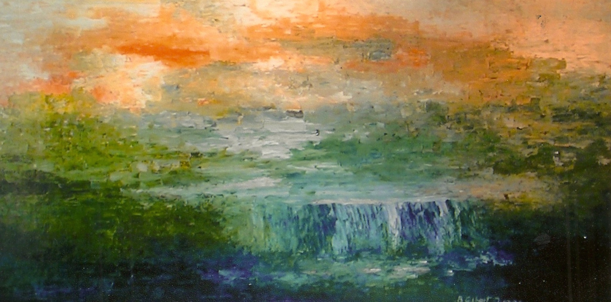 Water over the Dam (sold)