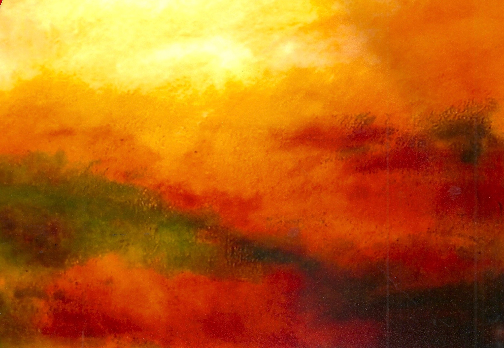 Land That I Love  48x60 Oil on Canvas  Sold