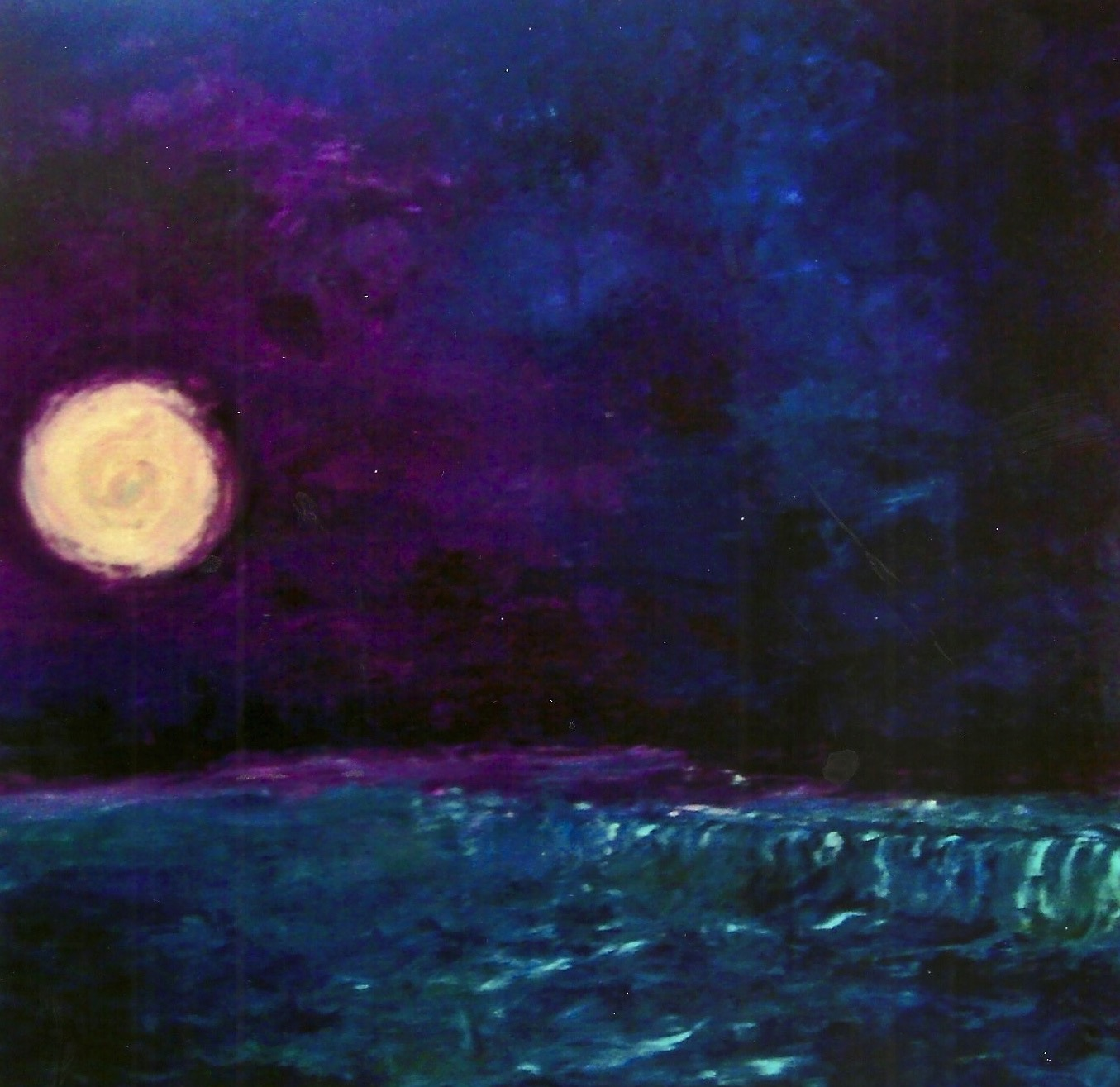 Moon Over the Dam, Momence IL (sold)