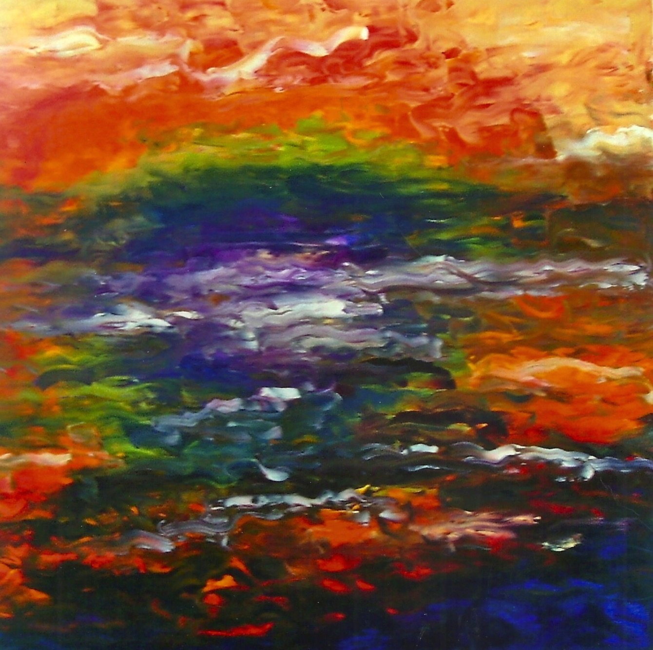 Autumn On The River (sold)