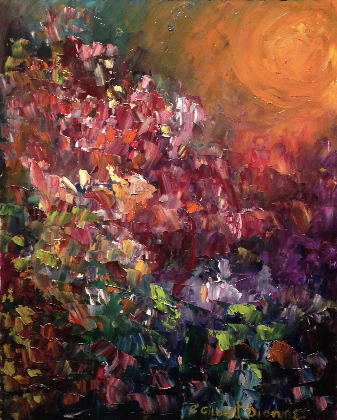 Indian Summer 20x24 Oil on Canvas Sold   (sold)