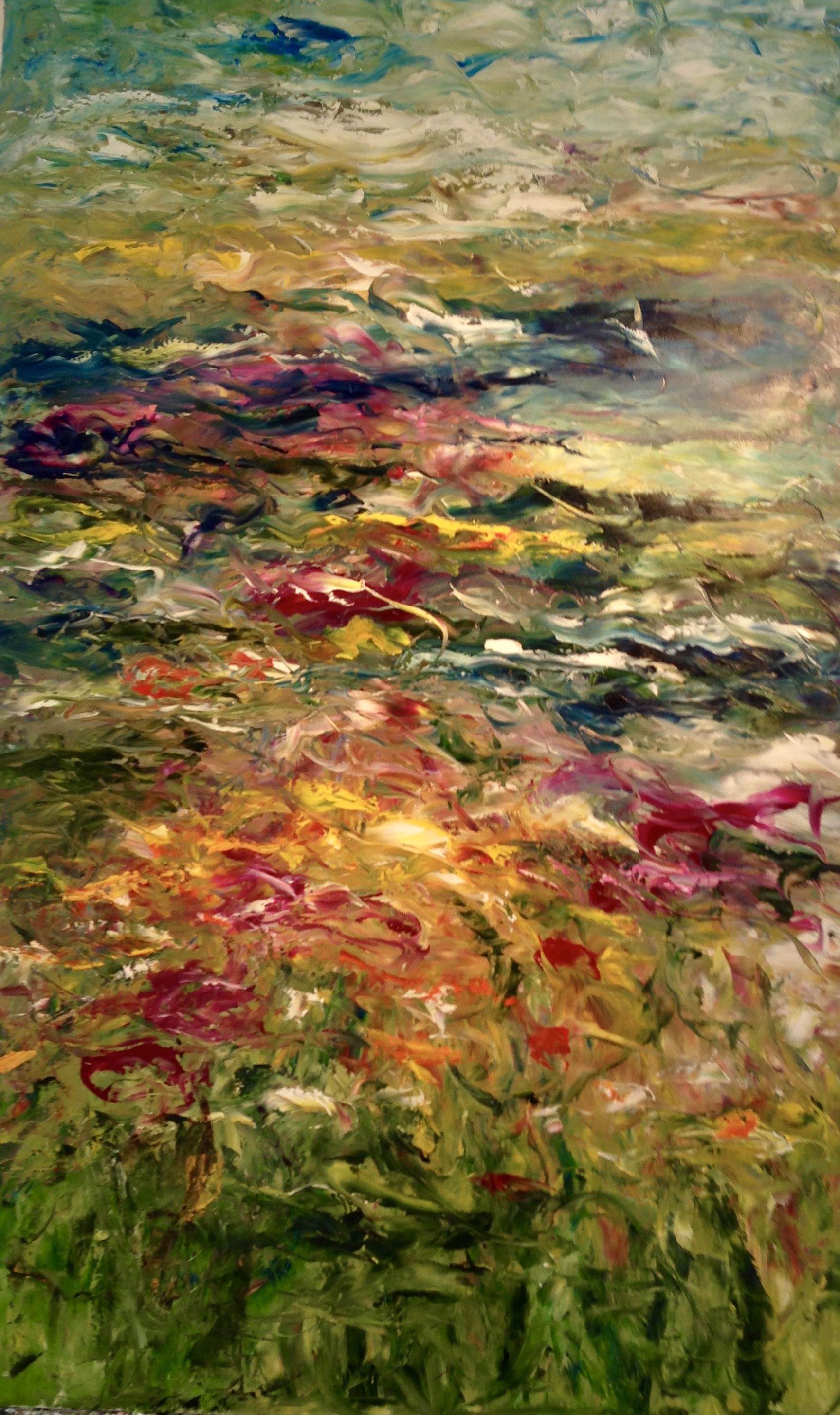 Well, Hello Summer Oil on Canvas 48x30 Sold