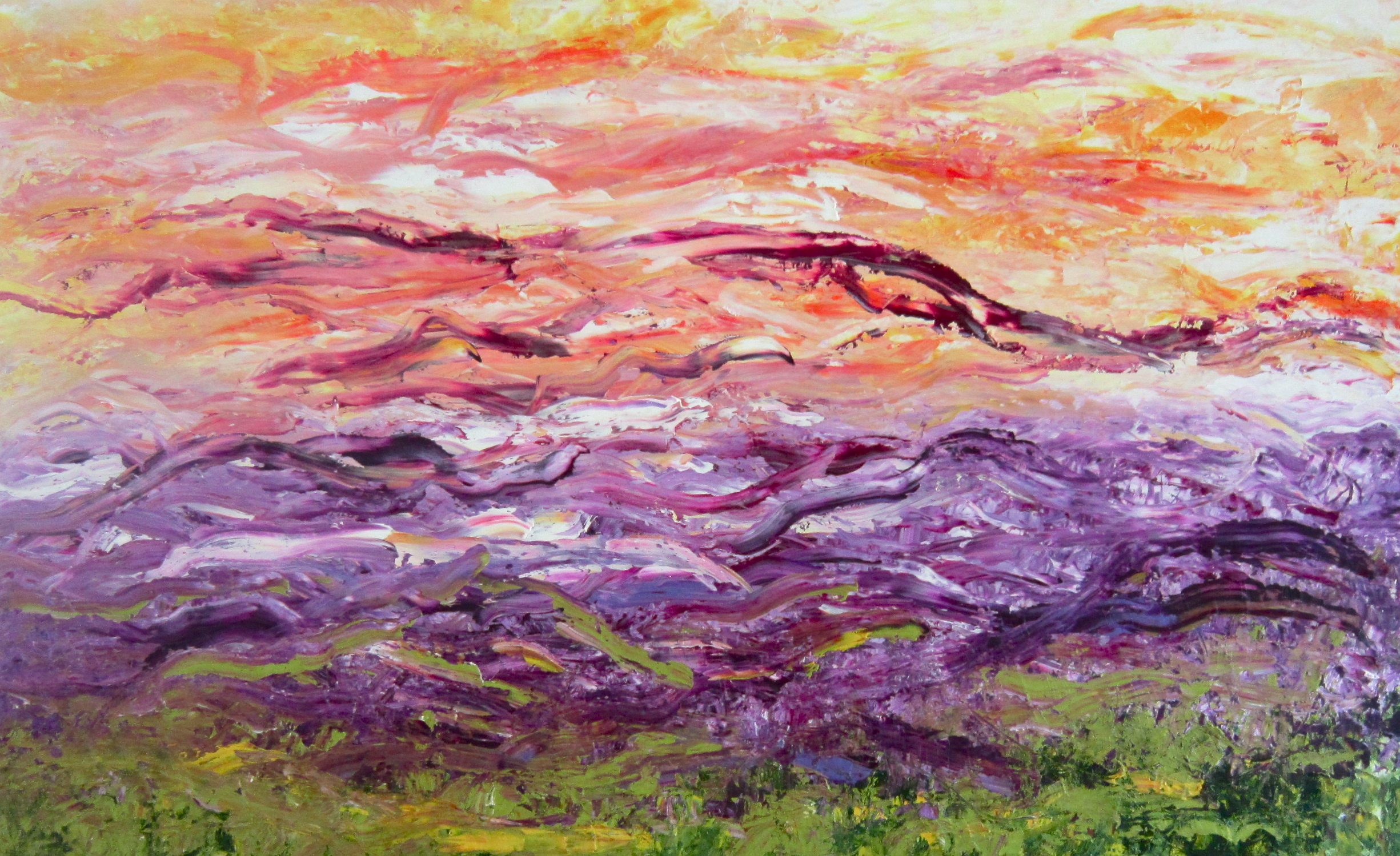 Journey 30x48 Oil on Canvas  Sold