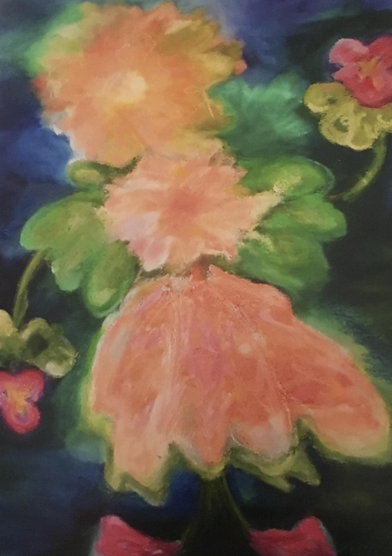 The Flower Girl 40x30 Sold