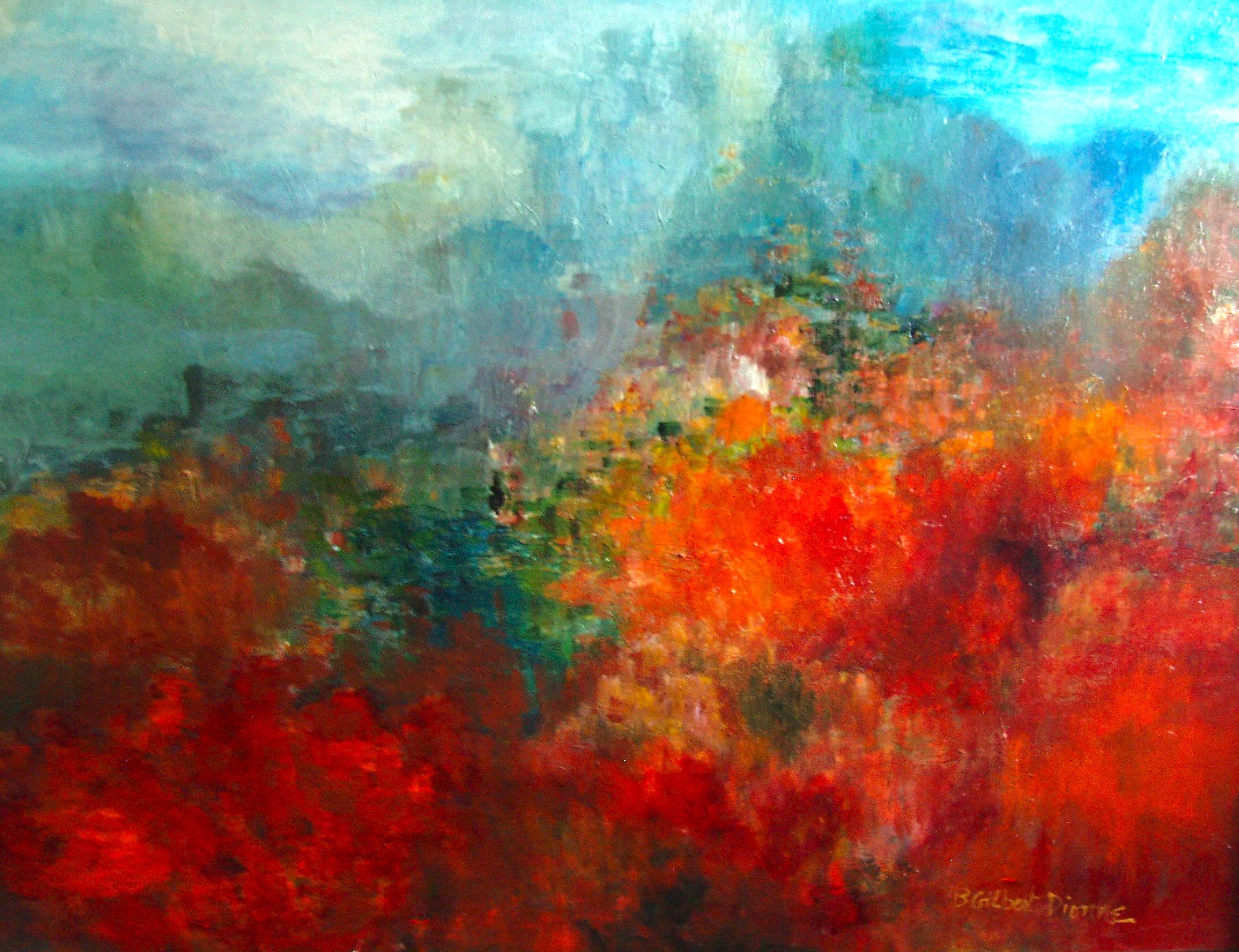 The Blue Ridge Mountains Oil 30 x40 Sold