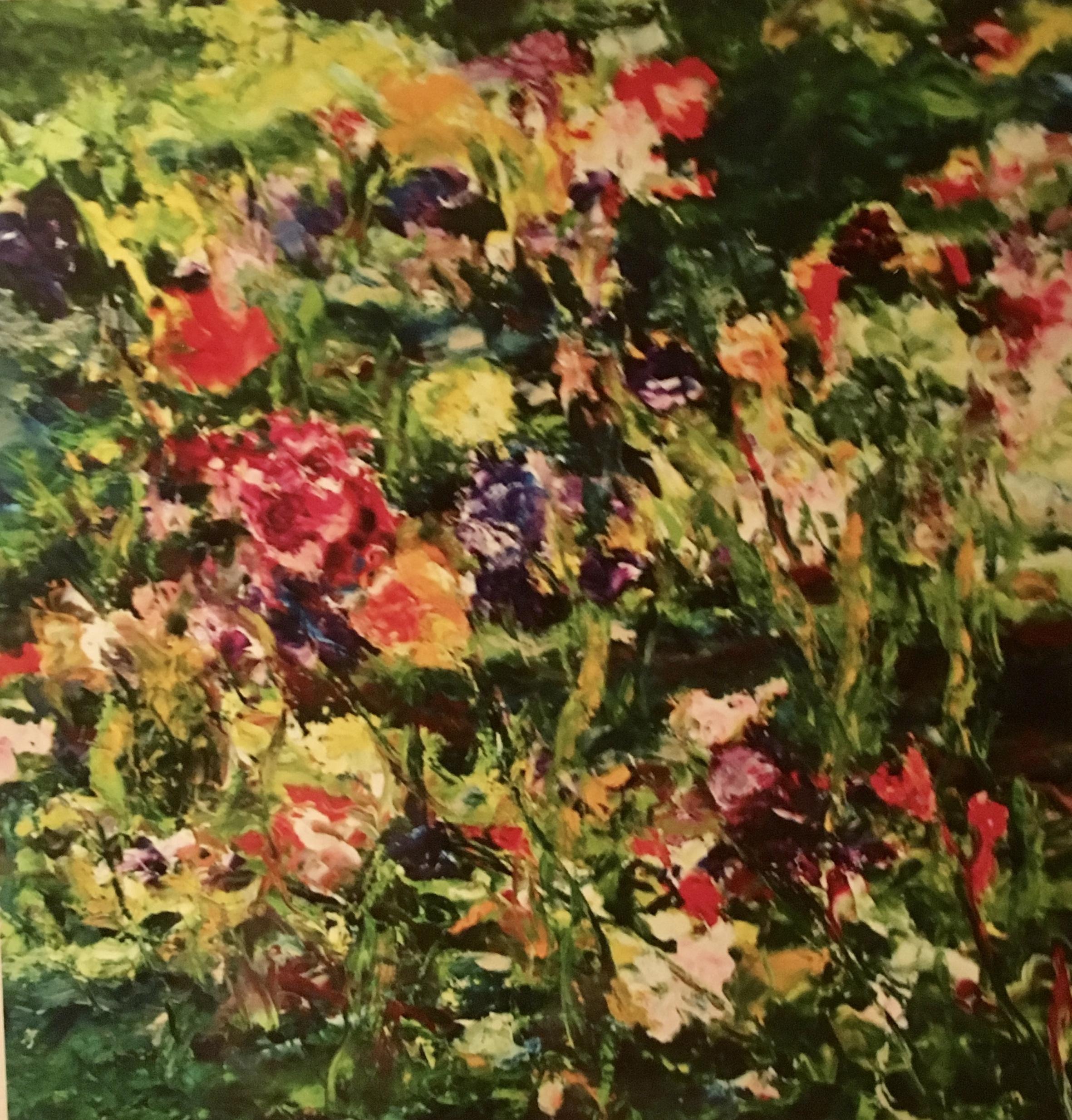 A Joyous Summer Oil 36x36 Sold