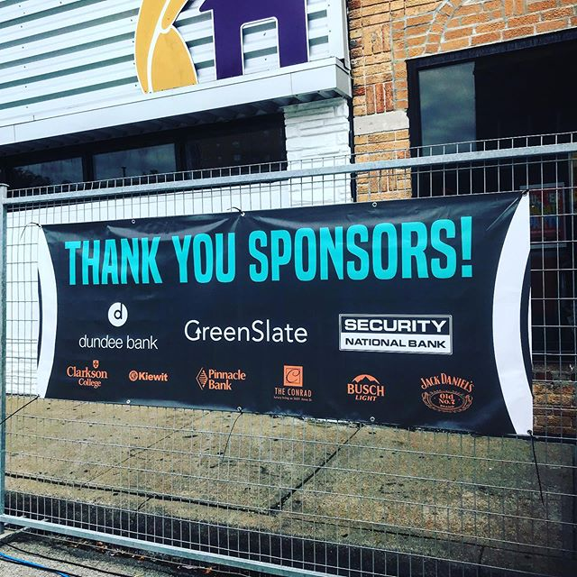 Huge thank you to our sponsors! 🤗 We couldn't do this without YOU! 👏