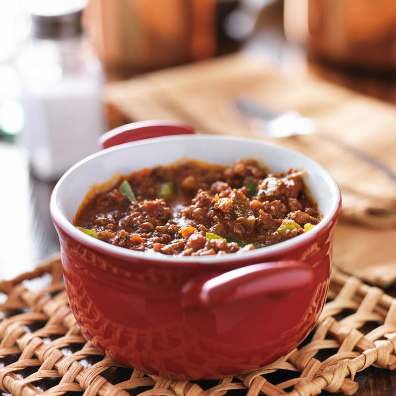 Who doesn't love a hearty bowl of warm chili and a cool day?