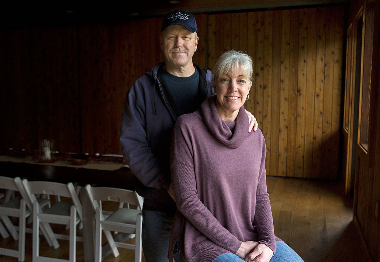 Carl and Rita Comfort own and operate Comforts of Whidbey in Langley