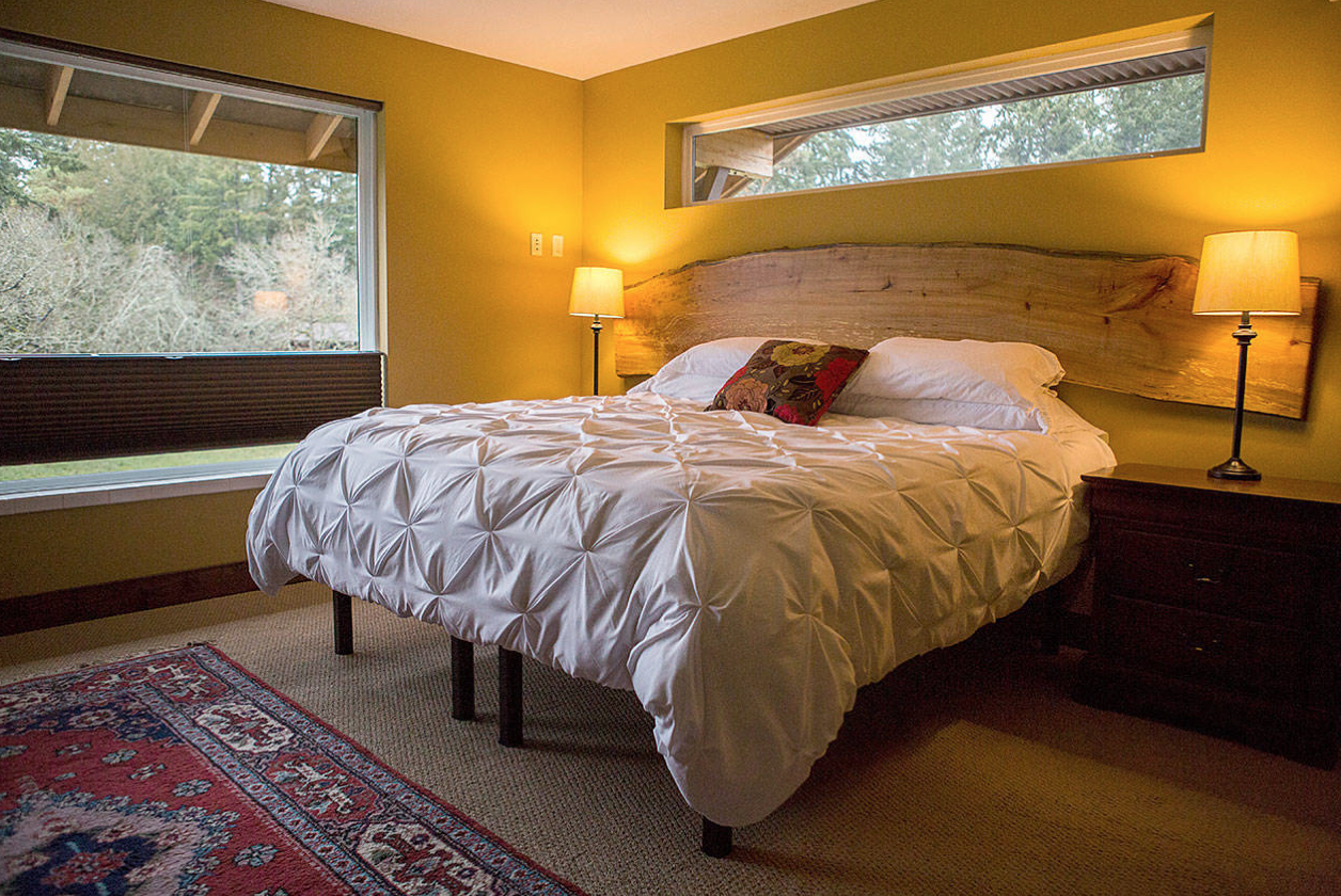 Stay here during the Wines and Food of Whidbey Tour! -