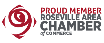 We are proud to be part of the Roseville Area Chamber of Commerce! -