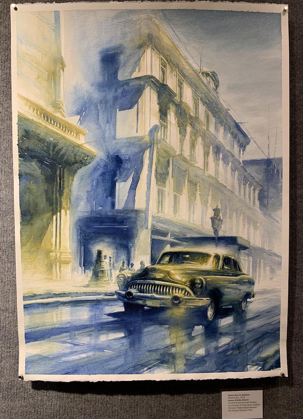 Rainy Day in Habana