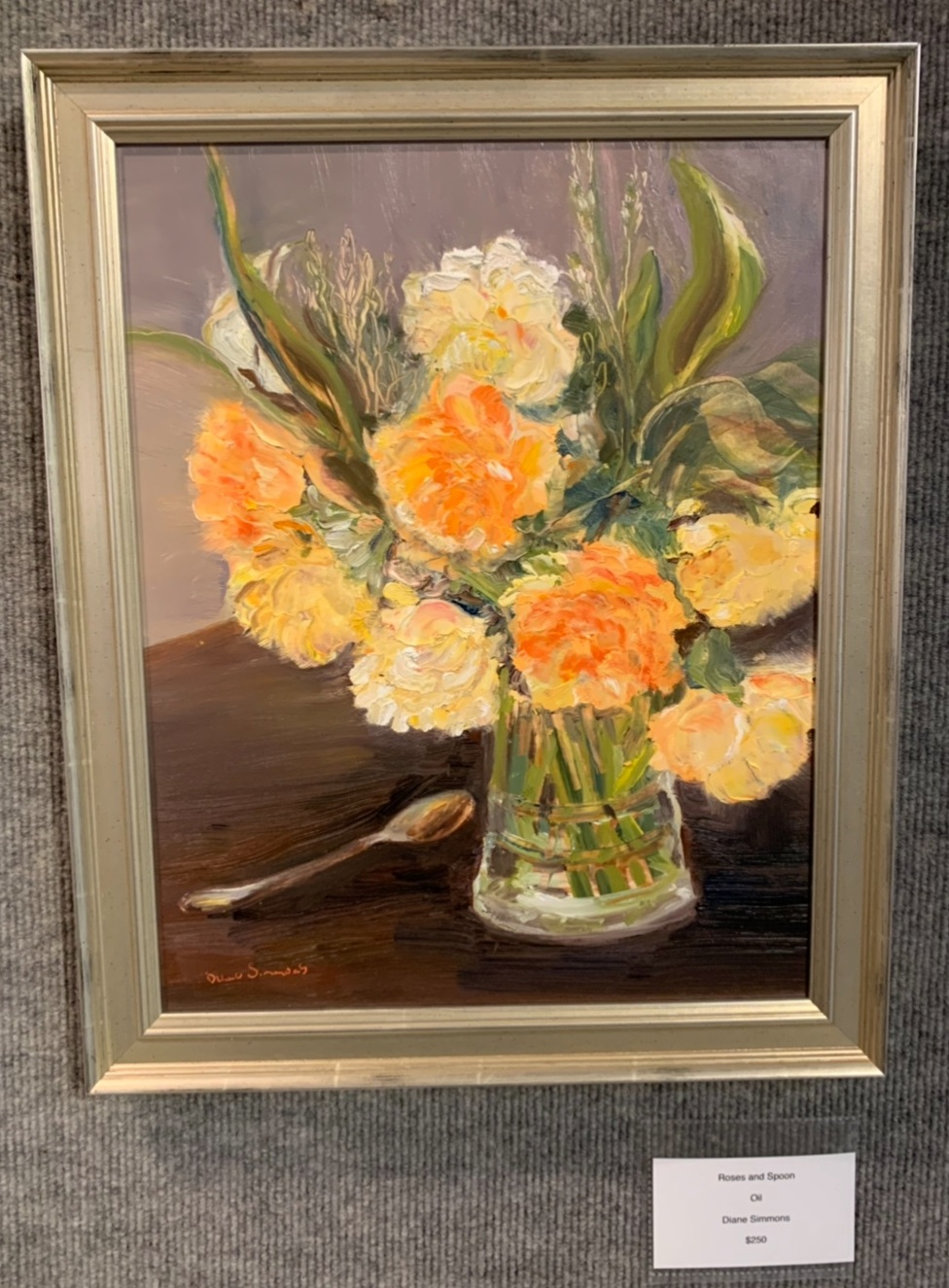 """""""Roses and Spoon"""", Diane Simmons"""