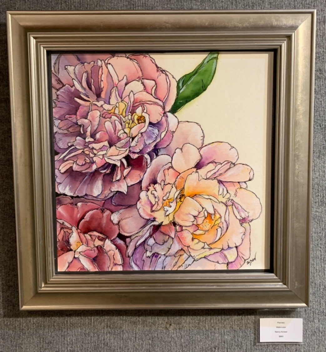 """Peonies"", Nancy Azneer"