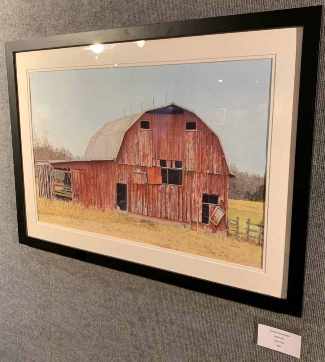 """""""Central Kentucky Barn"""", Steve Clay"""