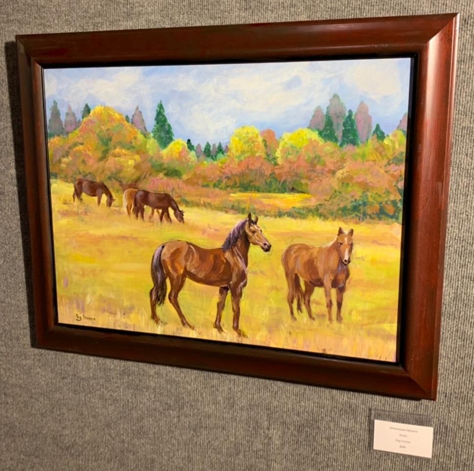 """Unharnessed Meadow"", Peg Truman"