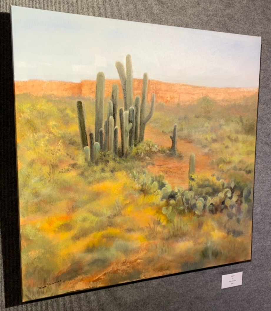 """Saguaro"", Diane Simmons"