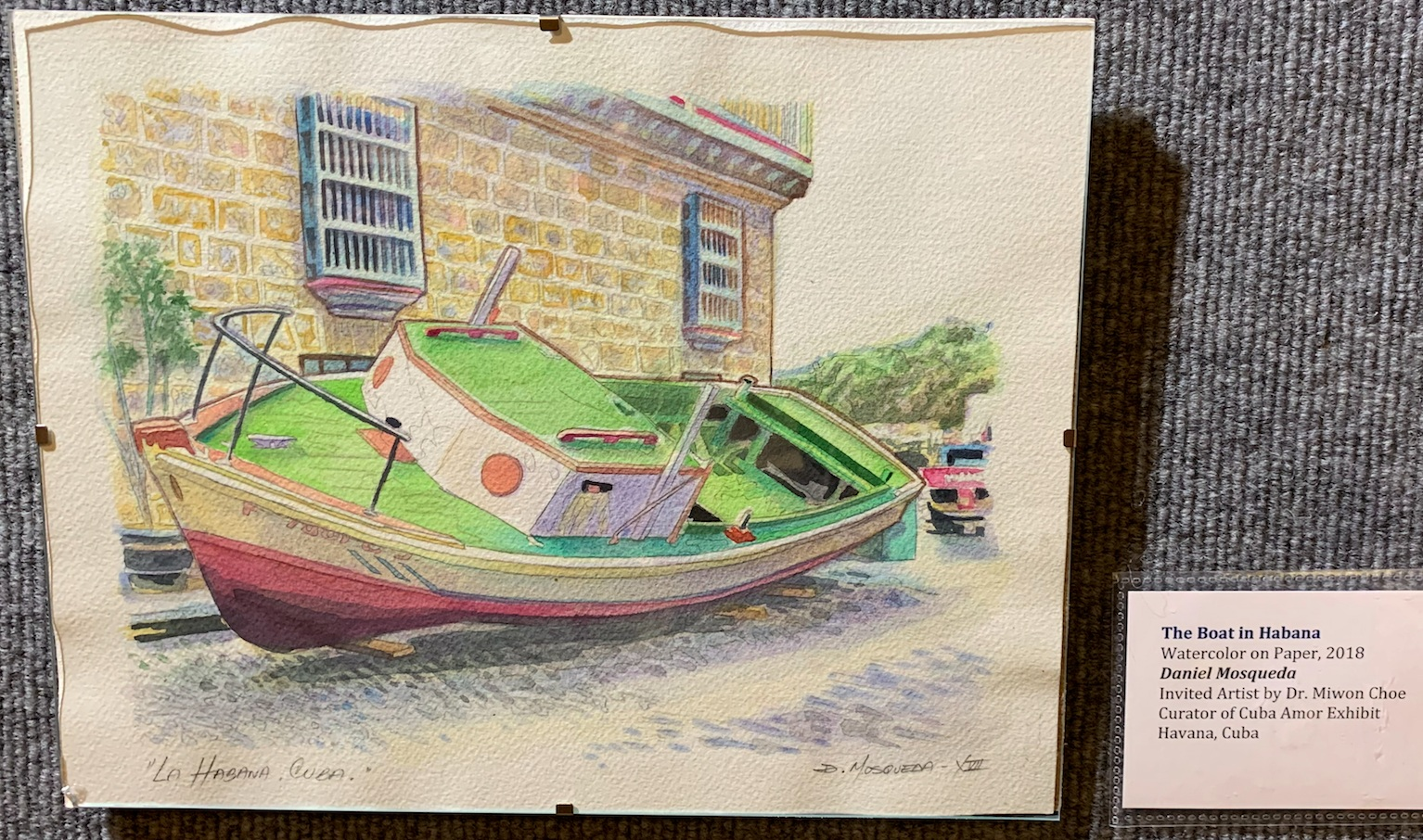 The Boat in Habana