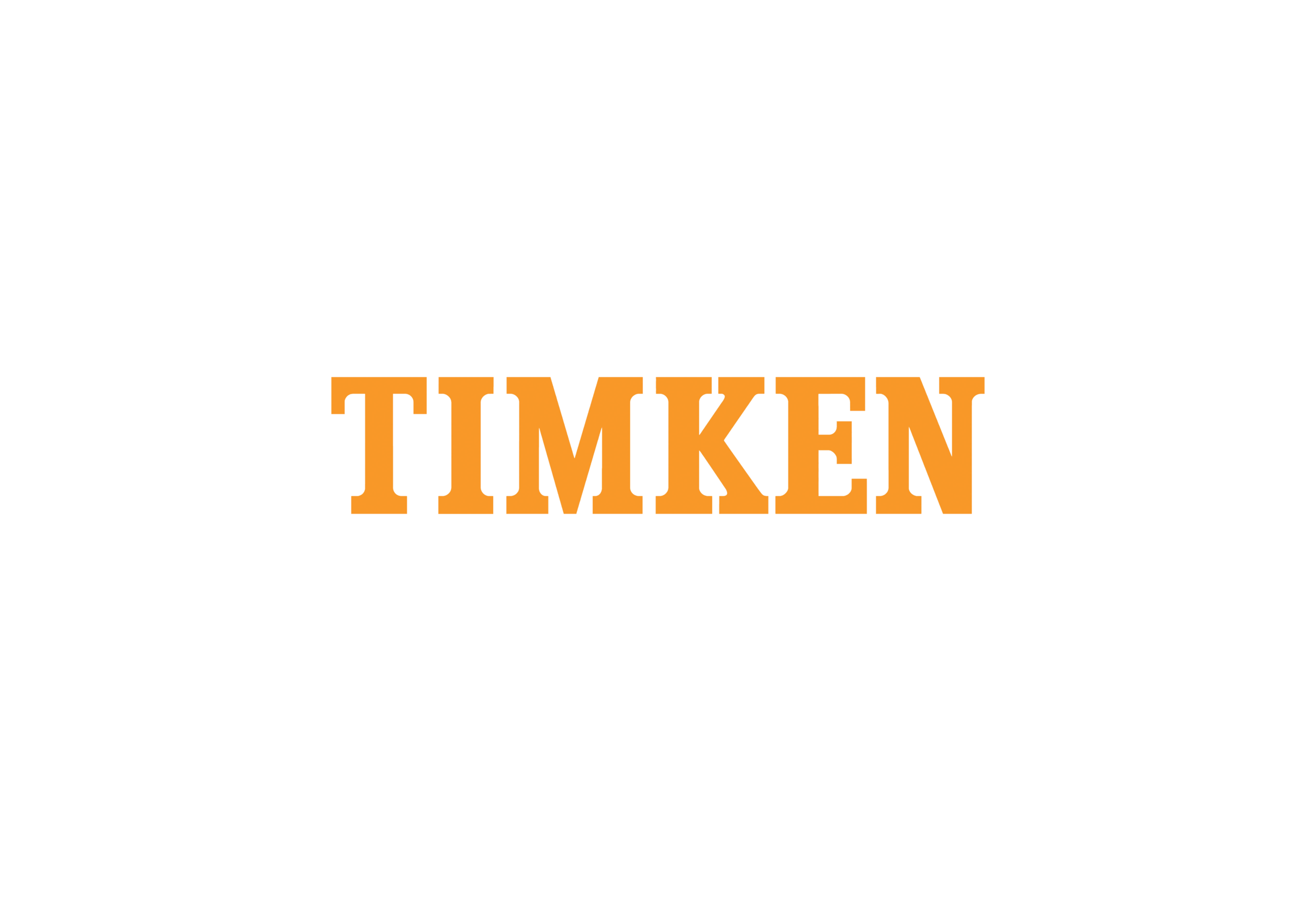 Timken - Timken is a world leading manufacturer of bearings and power transmission products. Specializing in tapered roller bearings and spherical roller bearings, Timken delivers a wide range of anti-friction bearings.Bearings: ball bearings, cylindrical bearings, housed units, precision bearings, spherical and tapered roller bearings, seals, wheel hub units.Reasons to choose Timken: high quality product, wide variety of applications and extensive product knowledge in lots of different areas.