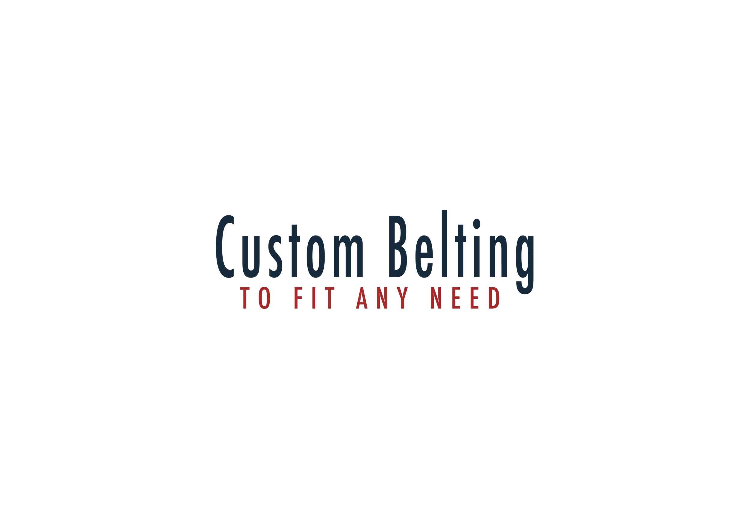 Conveyor Belts - We sell a wide variety of conveyor belts for a wide range of applications.Belting: Most all belts can be made custom to your needs. We provide our customers with a variety of materials, widths, lengths, thickness, plys, MOR belts, and PVC just to name a few of our most common customer wants.Our services: Our team is specialized in providing you with your exact conveying needs.