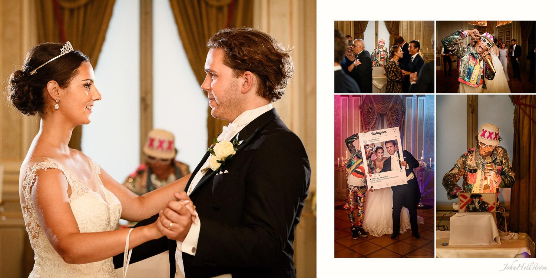 Första dansen som gifta på Grand Hotel
