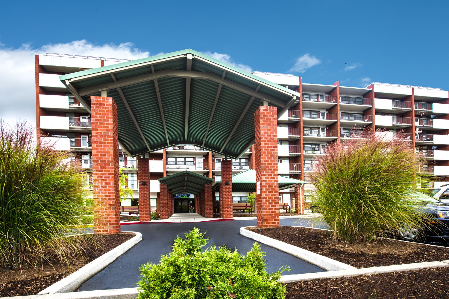 Mountain View Apartments in Cumberland, Maryland is an energy efficiency success story. The building features energy star appliances and lighting, and a green roof with vegetation - all designed to save residents money on electric bills.