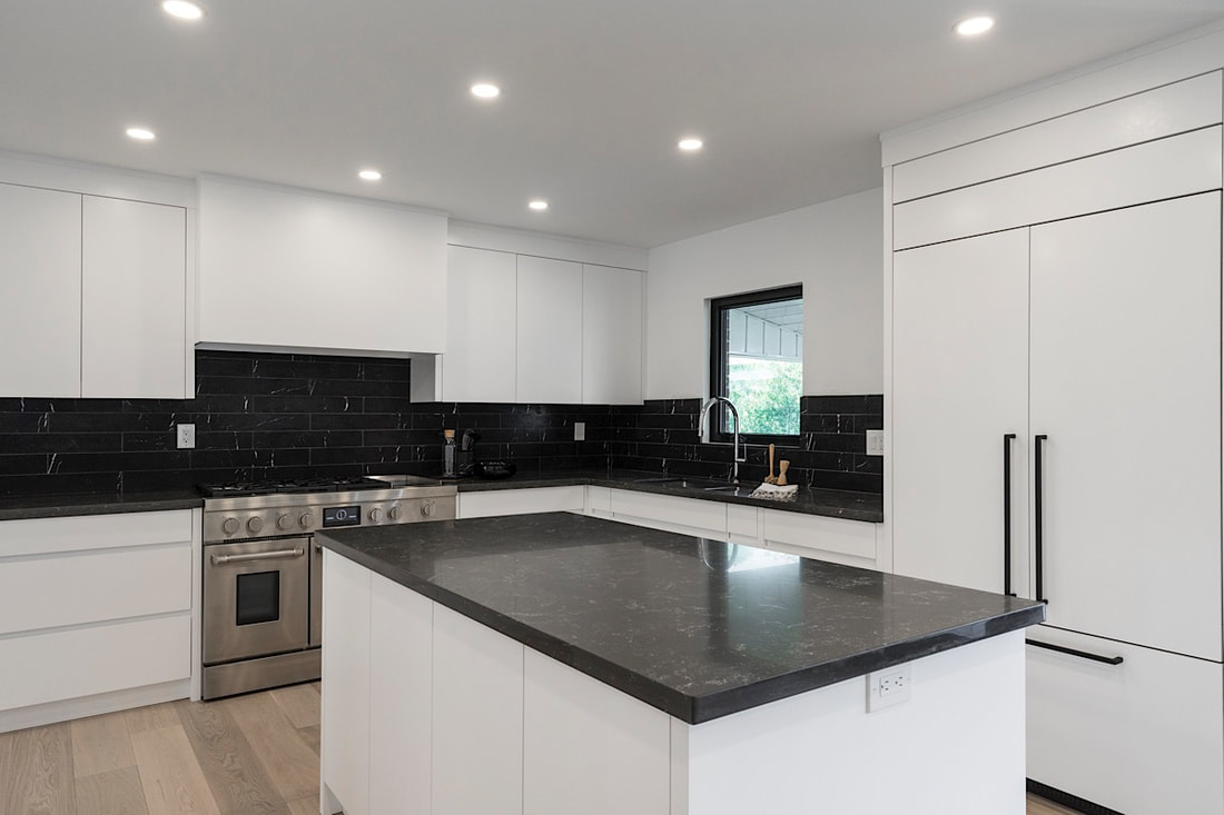 North york residence - Budget Conscious · Black & White · Look For Less